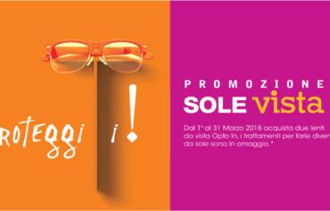 Promozione Sole Vista Marzo 2018